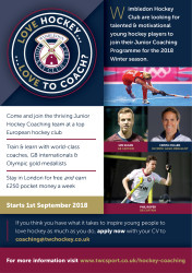TWC Hockey Coaching Programme Flyer FINAL